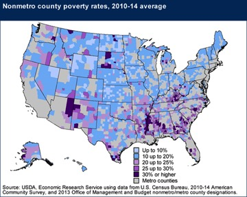 Poverty Archives Heads And Hatracks - Us poverty map 2016